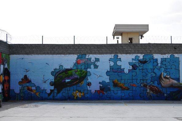 Γκράφιτι στις φυλακές Αυλώνα – Μάθημα Σχεδίου b050c13b277